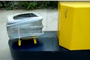 行李缠绕包装机